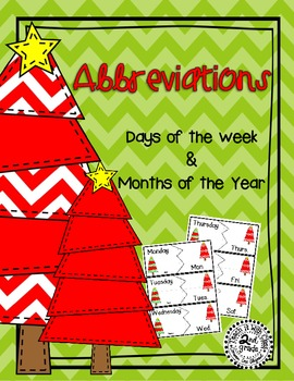Christmas Abbreviations