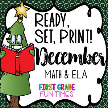 Christmas Activities Ready, Set, Print