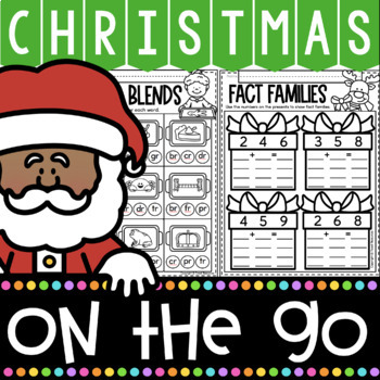 Christmas Activities for First Grade {Math and Literacy No