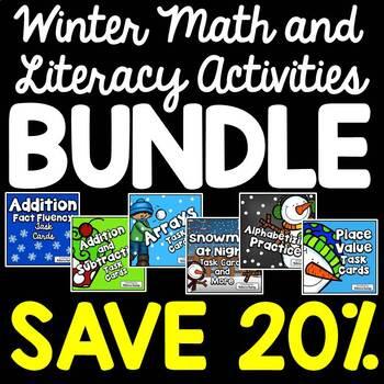 Christmas Activities $$$ Savings BUNDLE for Second Graders