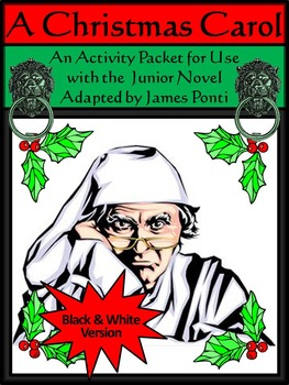 Christmas Language Arts Activities: A Christmas Carol Acti