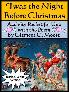 Christmas Language Arts Activities: The Night Before Chris