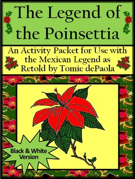 Christmas Reading Activities: The Legend of the Poinsettia