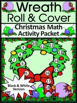 Christmas Activities: Christmas Wreath Roll & Cover Christ