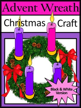 Christmas Activities: Advent Wreath Christmas Craft Activi