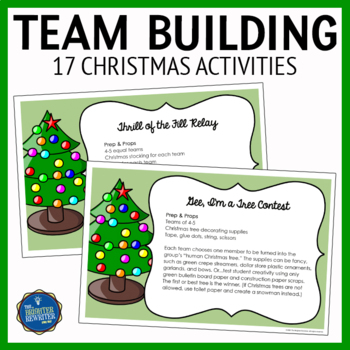 Christmas Team Building & Party Activities