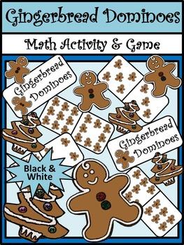 Christmas Activities: Gingerbread Men Christmas Dominoes M