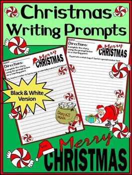 Christmas Activities: Christmas Writing Prompts