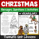 Christmas Activities {Christmas Writing, Reading, S&L, Math}