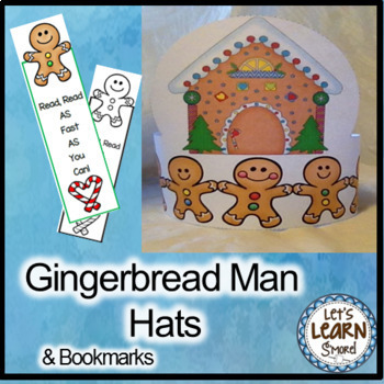 Christmas Activities, Gingerbread Man Hats, Gingerbread Ac