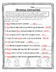 Contractions Christmas English Christmas Activity Christma