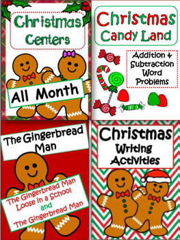 Christmas Activities and Printables: Bundle