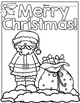 Christmas Activity Pages/Workbook Print and Go Second-Third Grade