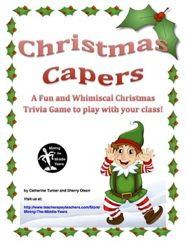 Christmas Activity - Trivia Game