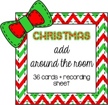 Christmas Add Around The Room Cards
