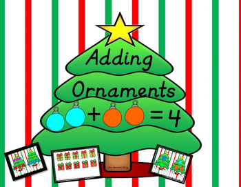 Addition Center (Christmas Theme)