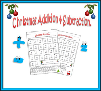 Christmas Addition & Subtraction.