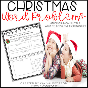 Christmas Addition & Subtraction Word Problems (Common Cor