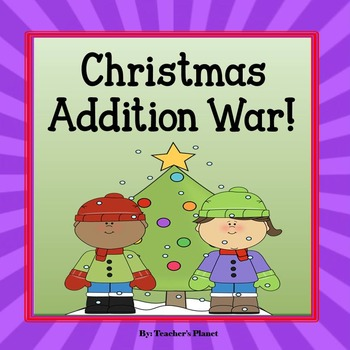 Addition Games - Christmas Addition War