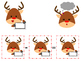 Christmas Addition and Subtraction Center Reindeer Theme