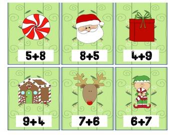 Christmas Addtion Game