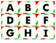 Christmas Alphabet & Number Board Game