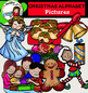 Christmas Alphabet pictures-52 items!