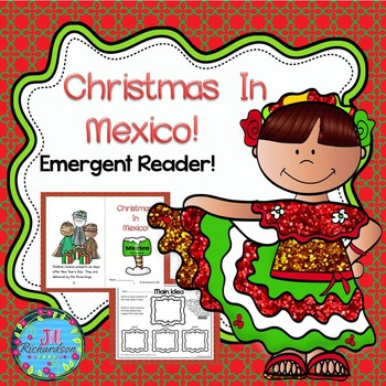 CHRISTMAS AROUND THE WORLD MEXICO  (Emergent Reader Christ