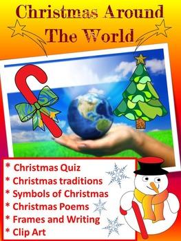 Christmas Around  The World - 20 Countries - Quiz - Christ