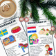 Christmas Around The World ** 10 Countries ** Maps, Passpo