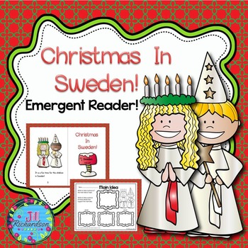 Christmas Around The World Sweden Emergent Reader