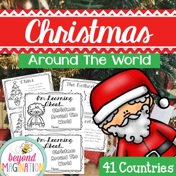 Christmas Around the World Booklet | 172 Pages for Differe