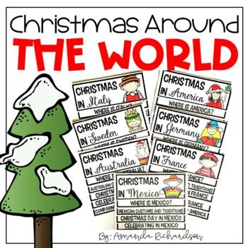 Christmas Around the World Flip Up Book BUNDLE