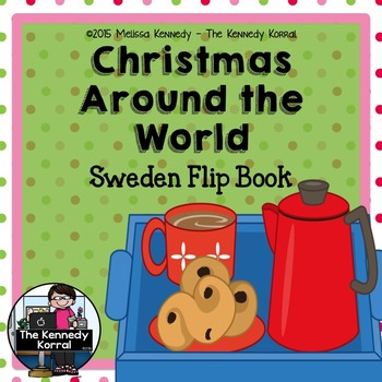 Christmas Around the World - Sweden - {Flip Book}