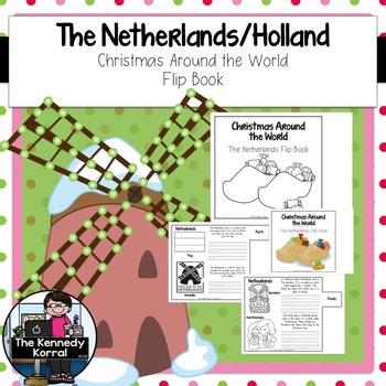 Christmas Around the World - Netherlands / Holland - {Flip Book}