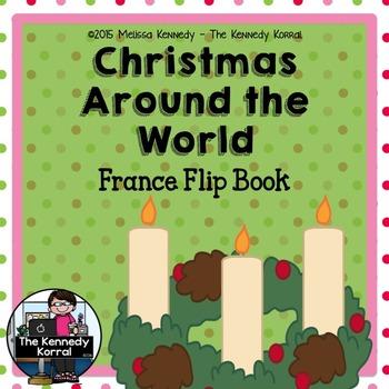 France - Christmas Around the World {Flip Book}