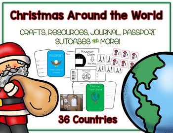 The Ultimate Christmas Around the World Pack - 21 Countrie