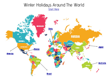 Christmas Around the World Hyperdoc