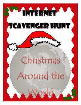 Christmas Around the World - Internet Scavenger Hunt