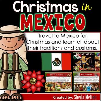 Christmas Around the World PowerPoint: Mexico