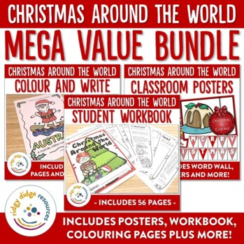 Christmas Around the World Posters and Student Workbook ME