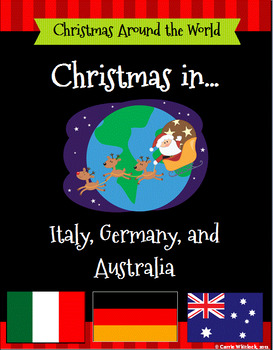 Christmas Around the World Set 2 - Italy, Germany, and Aus
