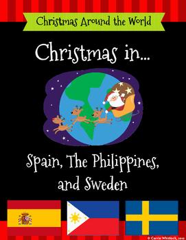 Christmas Around the World Set 4 - Spain, The Philippines,