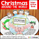 Christmas Around the World Interactive Book for Kindergart