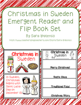 Christmas Around the World: Sweden Emergent Easy Reader an