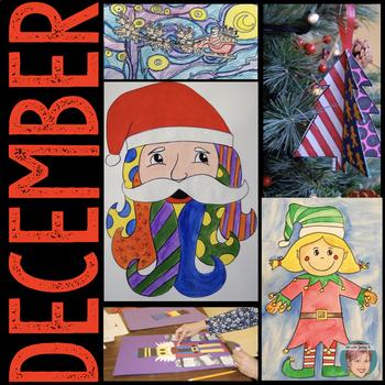 Christmas Activities Bundle: 6 Holiday Activities