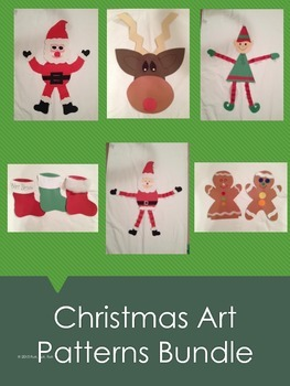 Christmas Art Patterns Bundle
