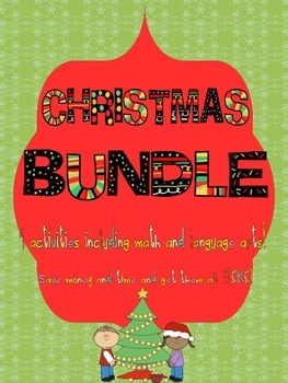 Christmas BUNDLE of 9 activities: Learning while having ho