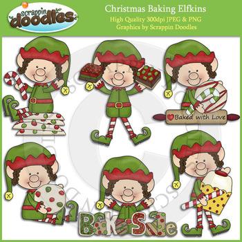 Christmas Baking Elfkins