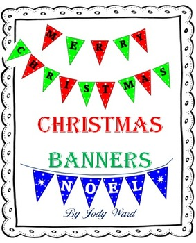Christmas Banners & Decorations